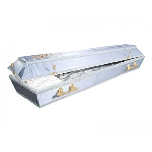 Обитые тканью гробы