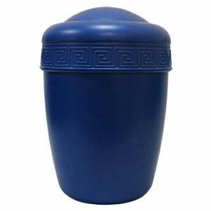 Урна для праха пластиковая с миандром