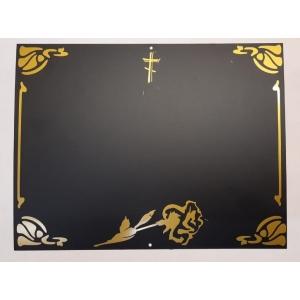 Табличка на крест - вариант №7
