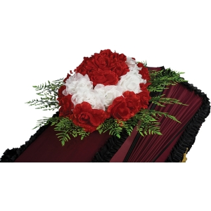 Траурная Композиция на гроб №-4