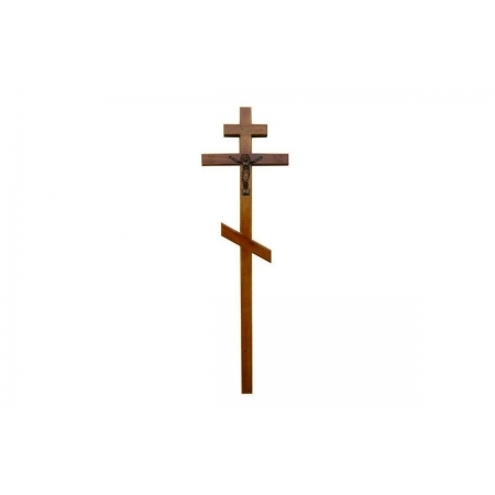 Крест из массива дуба