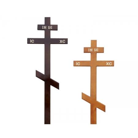 Крест из сосны (темный,светлый) простой