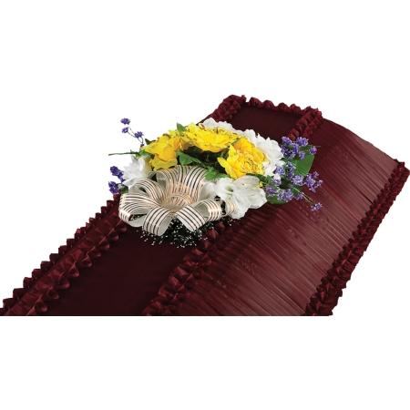 Траурная Композиция на гроб №-1