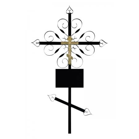 "Крест на могилу ""Завитушка"""